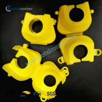China PE Scaffolding Coupler Plastic Cover Protection Cap Fit To 48.3mm Fitting on sale