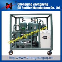 China transformer oil recycle machine for electrical power system,decoloration purifier,renew wholesale