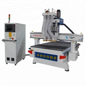China 4.5kw Cnc Wood Engraving Machine , Wooden Door Making Machine Taiwan CSK 30 Rail wholesale