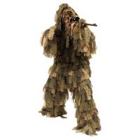 China 3D Leaf Camouflage Ghillie Suit Camo Ghillie Suit Hunting Ground Blind Hunting Clothes wholesale
