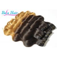 China Body Wave 20 Inch Black To Blonde Ombre Hair Extensions Peruvian Ombre Hair Bundles wholesale