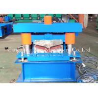 China Ridge Cap Roll Forming Machine / Hydraulic Metal Roof Forming Machine wholesale