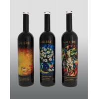 Buy cheap frosted 750ml glass wine bottle from wholesalers