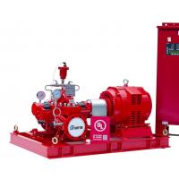 China Horizontal Split Case Fire Pump With Electric Motor Driven Water Supply wholesale