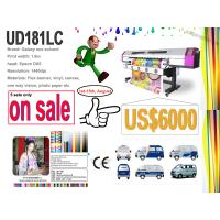 Buy cheap Galaxy eco solvent printer UD181LC model with Epson DX5 head for vinyl printing from wholesalers