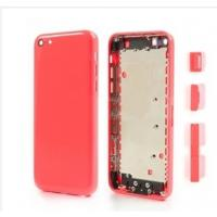 China Pink Housing Faceplates with Side Buttons for iPhone 5C,wholesale factory outlet wholesale