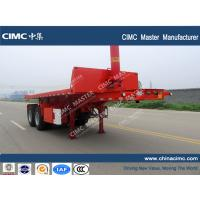 China CIMC 20ft container tipping trailer wholesale