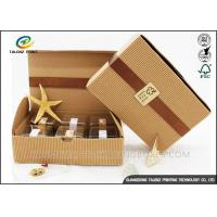 China Small Size Corrugated Packaging Box Recycled Healthy Paper Materials on sale