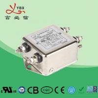 China 8A 2.5KW DC Power Noise Filter YD12D2 Aircraft Line Choke EMI Filter wholesale