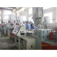 Quality HDPE prestressed flat pipe extrusion machine for sale