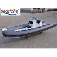 China 90HP Wide Hard Bottom Inflatable Boat / Comfort Seat Inflatable Rigid Bottom Boats wholesale