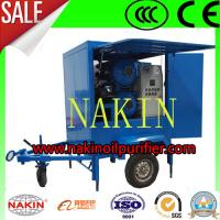 China NAKIN ZYM Trailer Type Transformer Oil Purifier, Oil Purification Machine wholesale