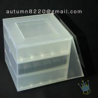 China BO (25) acrylic suggestion box wholesale