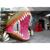 China Dinosaur 5D Movie Theater For Mall Party Cinema With Action Rides Projector wholesale