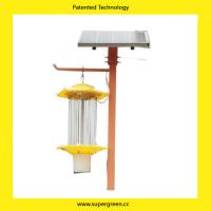 China Intelligent Auto Control  Inverter Type LED DC Solar Pest Control Lamp wholesale