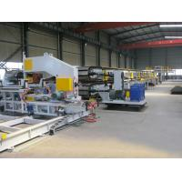 China Japan Mitsubishi PLC Aotomatic Control  PU Sandwich Panel Production Line wholesale