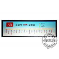 Quality 19.7 inch Stretched LCD Display Monitor HDMI input Ultra wide Bar Media Player for sale