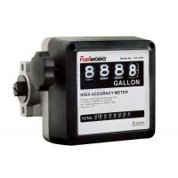 China High Performance  4 - digital Mechanical Fuel Flow Meter 50psi 3.5BAR wholesale
