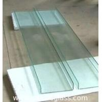 China 7mm U Shaped Glass Perfect Sound Insulation With High Mechanical Strength wholesale