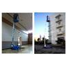 Buy cheap Single Mast Aluminium Scissor Working Platform 160 kg Load 8m Working Height from wholesalers