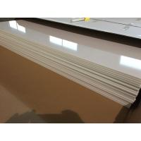 Ivory White PVC Ceiling Panels Glossy Oil Protecting Plastic Ceiling Tiles 603mm x 1210mm