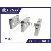 China Swing Barrier Gate / Access Control Turnstile Gate High Brightness Indicator wholesale