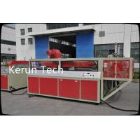 China CE PVC Foam Board Machine Extrusion Line 600 - 2400mm With Double Screw Extruder wholesale