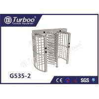 China Pedestrian Full Height Turnstile High Revolving Door Running Stably Without Noise wholesale