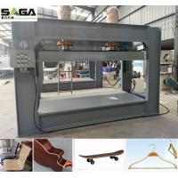 China Radio Frequency Bent Plywood Chair Machine RF Wood Curving Press Equipment wholesale