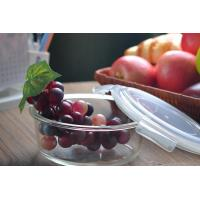 China Eco Friendly Home Party Large Glass Salad Bowl With Lid Chrome Free on sale