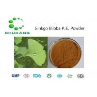 Quality Ginkgo Biloba Plant Extract Powder, Ginkgo Flavoglycosides24%, Terpene Lactones6% for sale