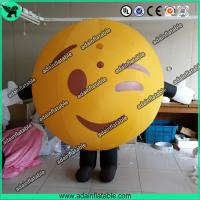 China Inflatable Mascot Costume Walking QQ Cartoon Inflatable wholesale