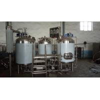 China 200L 300L pubs beer brew equipment with the insulation layer, fermentation tank and fermenter with dimple jacket wholesale
