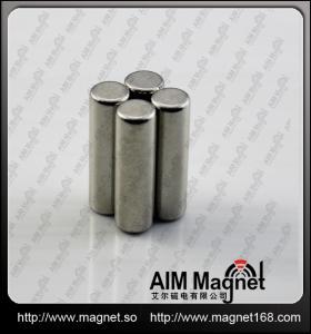 China N35 rod ndfeb magnet wholesale