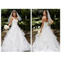 China Lovely Elegant Ball Gown Style Wedding Dresses With The Graceful Shoulder wholesale
