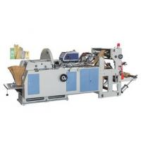 China High Speed Automatic Paper Bag Making Machine With PLC Controlled on sale