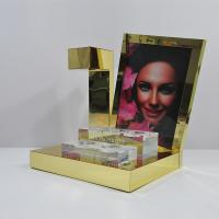 China Magnetic Levitation Retail POS Displays , Acrylic Makeup Display Stand wholesale
