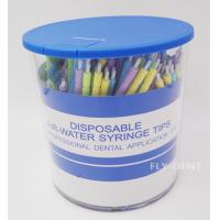 China 250pcs Colorful Disposable Dental Air-Water Syringe Tips wholesale