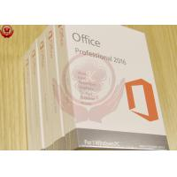 China Full Version DVD Activation Microsoft Excel 2016 Professional Plus Lifetime Guarantee wholesale