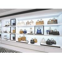 Quality Boutique Handbag Display Shelves / Store Display Cabinet Disassembly Structure for sale