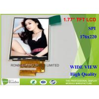 Customized 1.77 Inch Lcd Display , Small Lcd Display Screens With Backlight