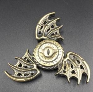 China Hot sail One Eyed Finger Gyro Dragon Wings Fidget Spinner EDC Toy 1118 wholesale