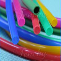 China Colored Soft Flexible Silicone Tubing 0.5-100mm OD Range FDA LFGB Approved wholesale