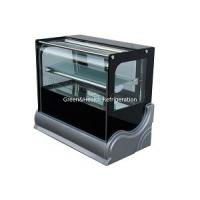 China Manual Defrost Cake Display Freezer / Bakery Display Cooler With Customized Floor Standing Or Table Top Counter wholesale