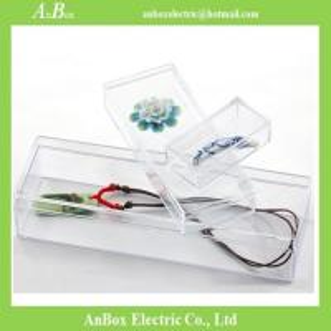 China 2.1mm Thinkess Transparent PS Clear Plastic Enclosures wholesale