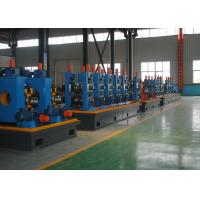 China High Frequency Welded Pipe Making Machine , Durable Square Tube Mill wholesale