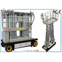 China Warehouses Self Propelled Elevating Work Platforms 6m For Two Persons wholesale