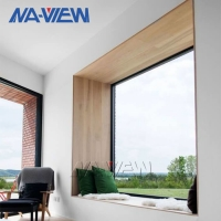 China Residential Aluminium Arched Picture Window Single glass wholesale