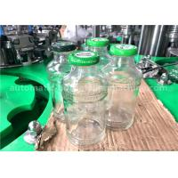 China 250ml Volume Glass Bottle Filling Line , 5.88KW Power Fillers For Glass Containers wholesale