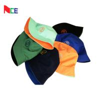 China Double Sided Fisherman Bucket Hat With Embroidery Tag Pantone Color Card wholesale